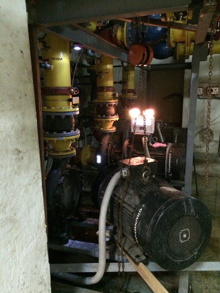 Επισκευή Αντλίας Grundfos Στο Μέγαρο ΟΤΕ
