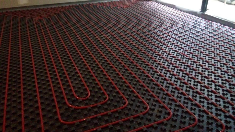 Ενδοδαπέδια Θέρμανση Στο Ψυχικό Με Σύστημα REHAU 585m²