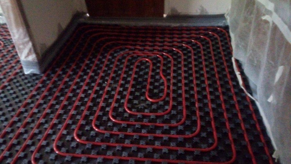 Ενδοδαπέδια Θέρμανση σε κατοικία 135τμ